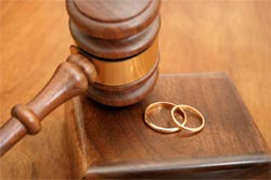 gavel and ring